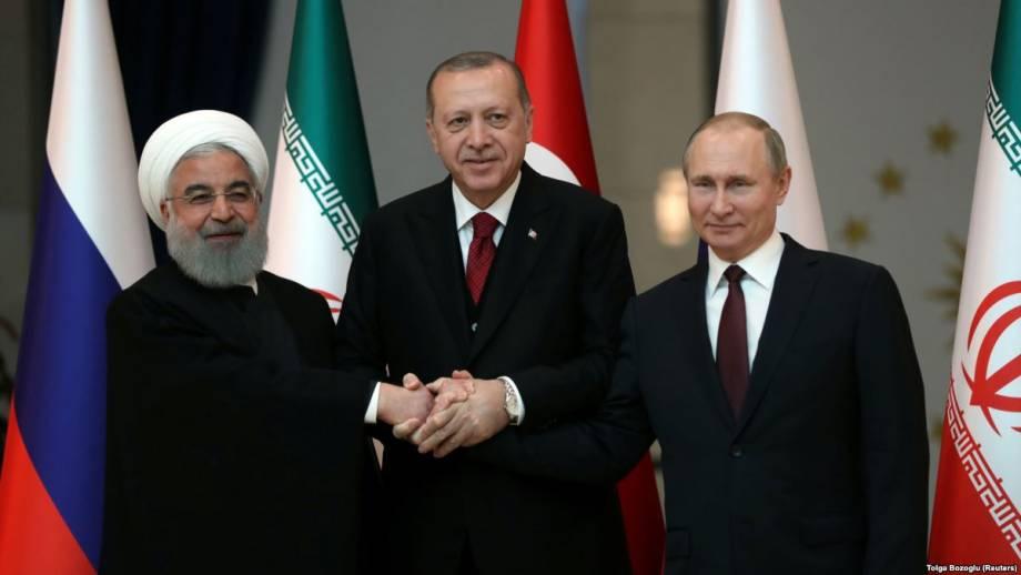 Турция, Россия и Иран заявляют о намерении добиться «длительного перемирия» в Сирии