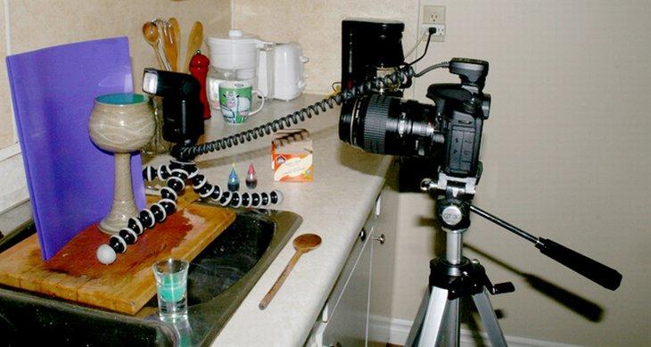 макро В мире мир форма Фотография воображение грибы фотограф