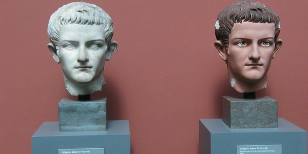 Гай Юлий Цезарь Калигула солдатский сапожок цезарь