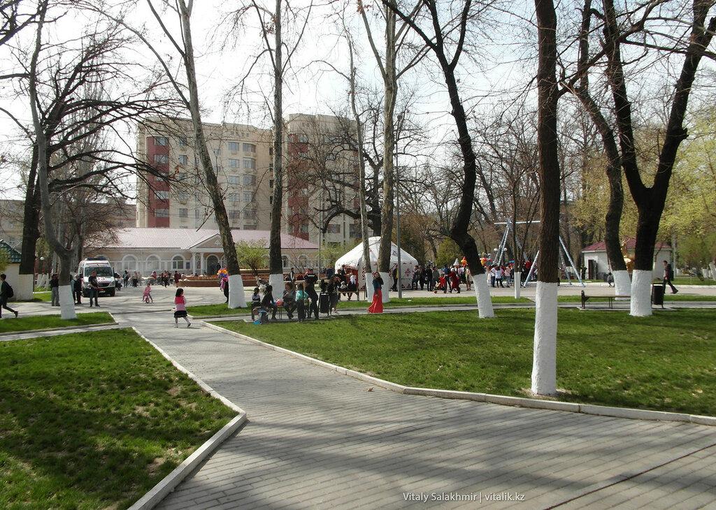 Центральный парк Шымкента