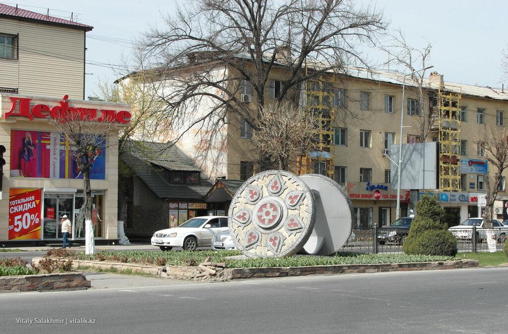 Украшение города Шымкент
