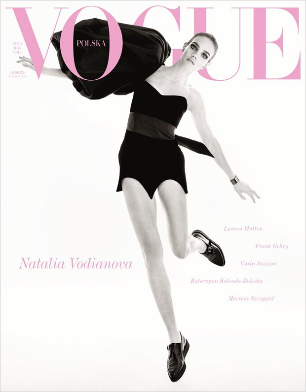 Natalia Vodianova is the Cover Star of Vogue Poland May 2018 Issue (1 pics)