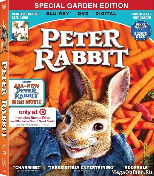 Кролик Питер / Peter Rabbit (2018/BDRip/HDRip)