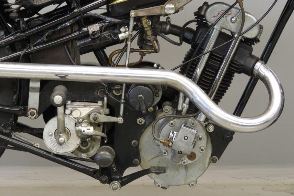 Старинный мотоцикл Cotton 6J 1934