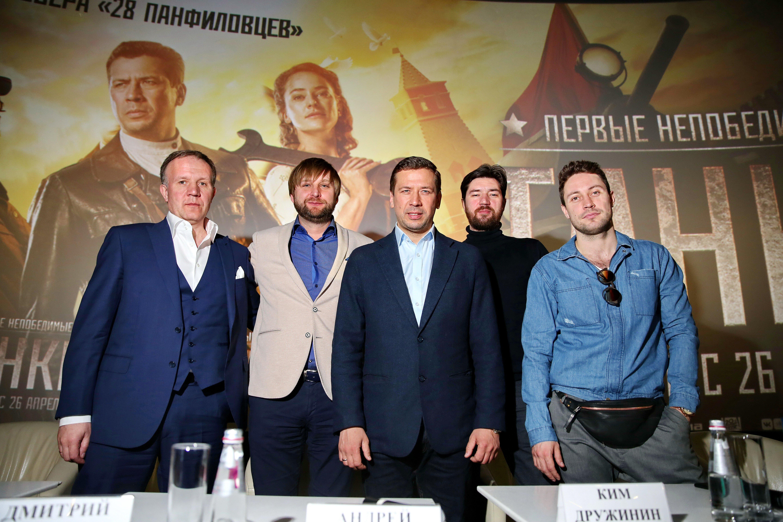 Пресс-конференция фильма «Танки»