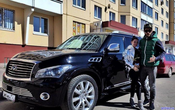 Тигран и Юля Салибековы купили авто за несколько миллионов