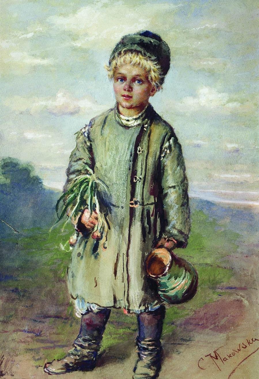 Крестьянский мальчик. 1880-е.