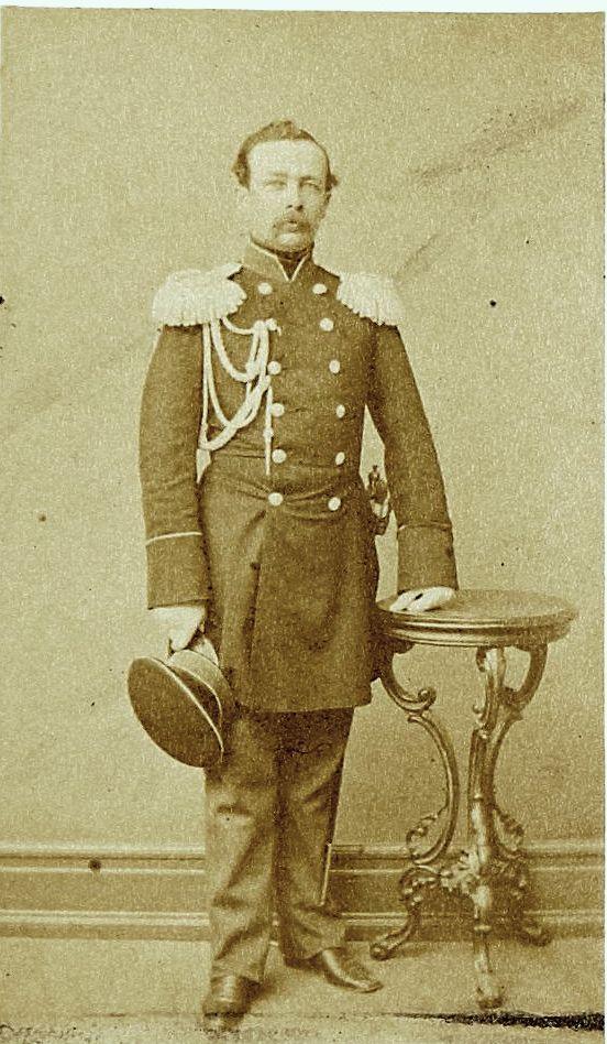 Фото генерал-адъютанта Косноковая, 1860-е