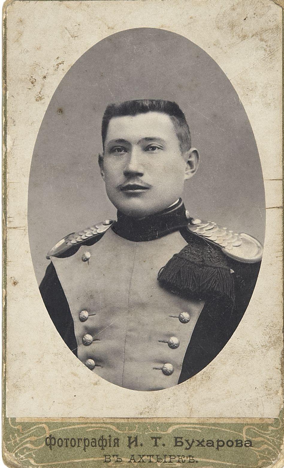 Фото рядового 10-го уланского Одесского полка. Ахтырка, 1908-1914