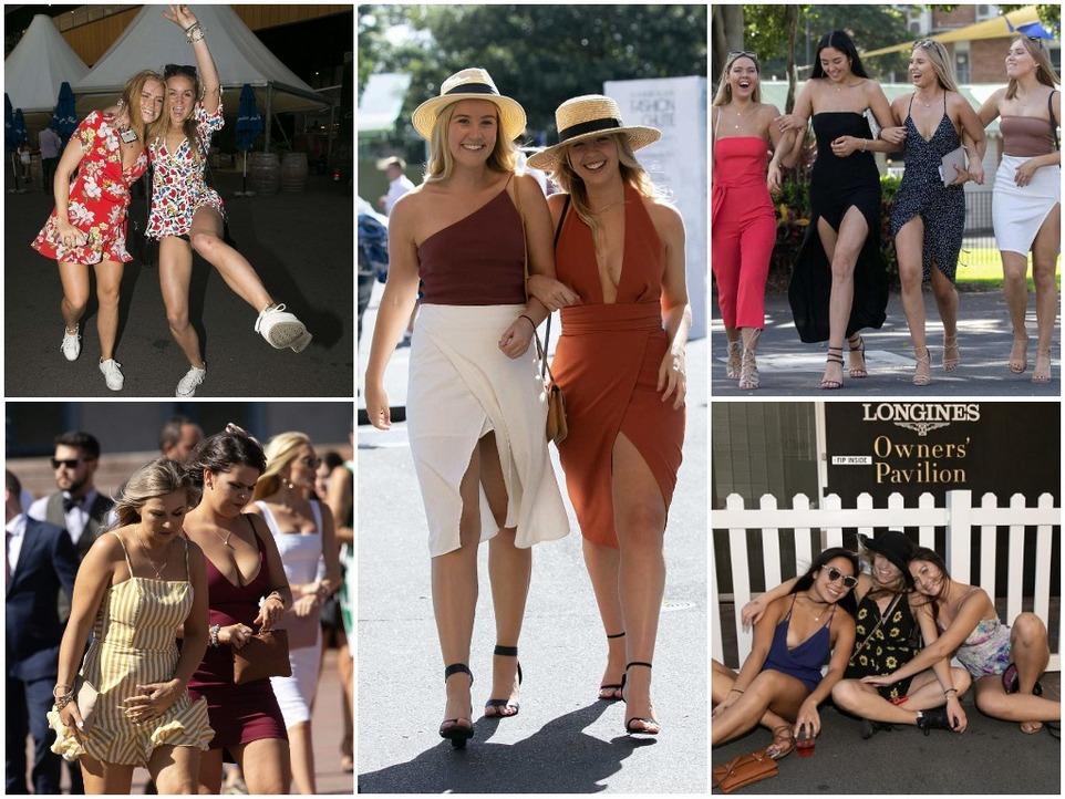 Queen Elizabeth Stakes day на скачках в Австралии