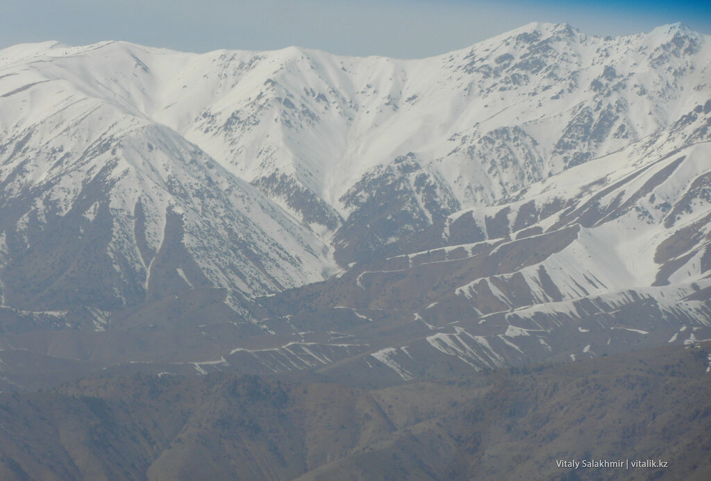 Перевал Камчик дорога из Андижана в Ташкент