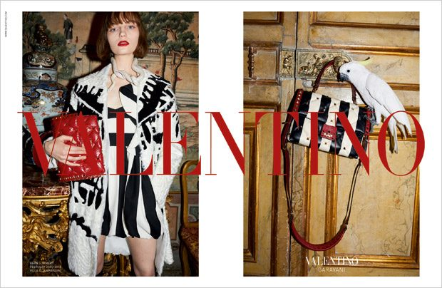 ad campaigns Top Models Womenswear