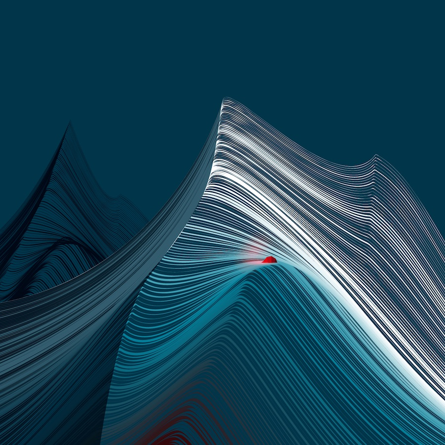 Graphic Mountains By Andrea Minini