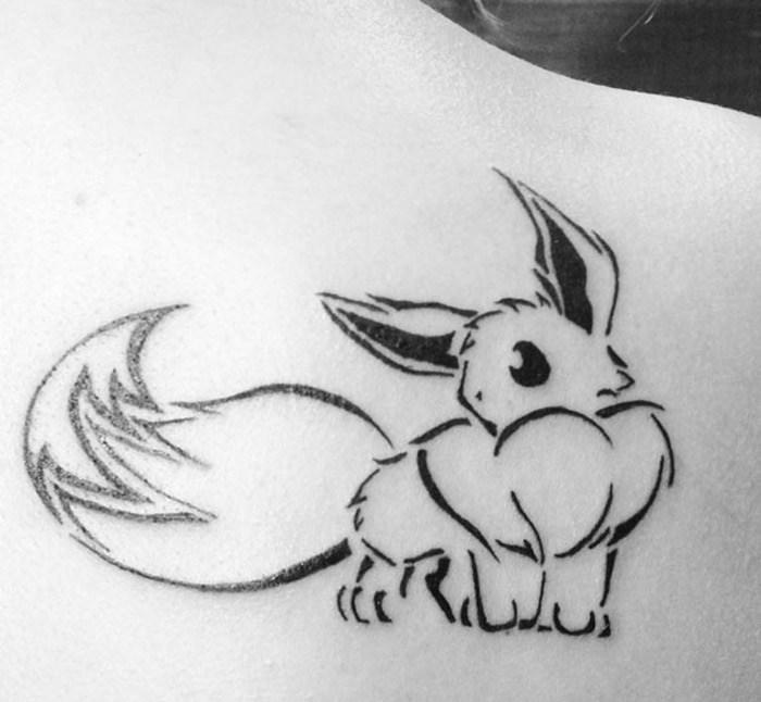 15 ideias incriveis de tatuagens para os fas de Pokemon