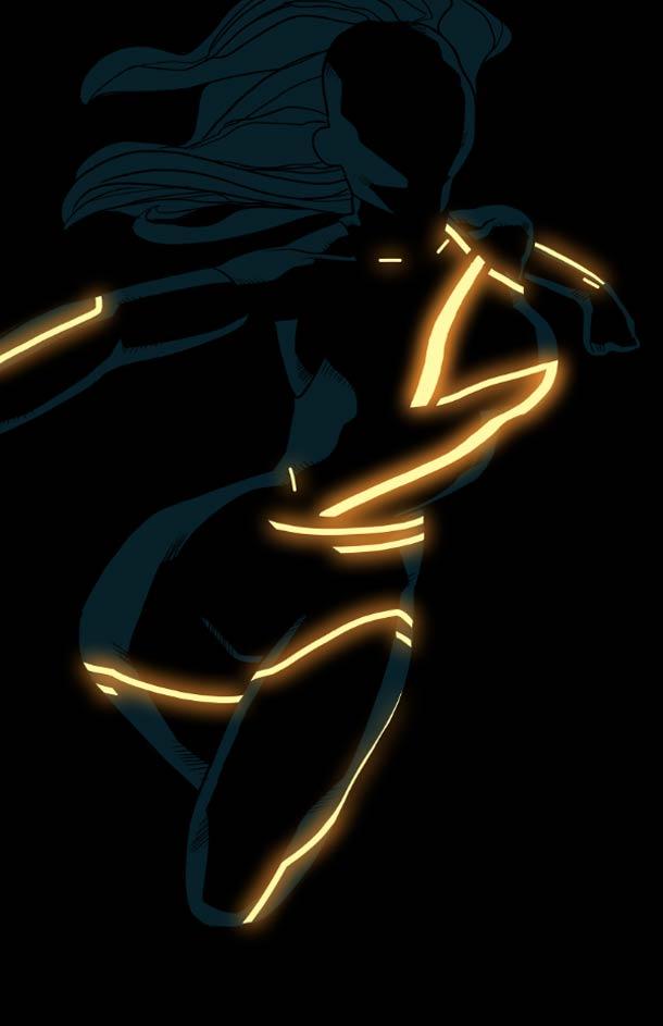Tron Superheroes - Illustrator - Kris Anka