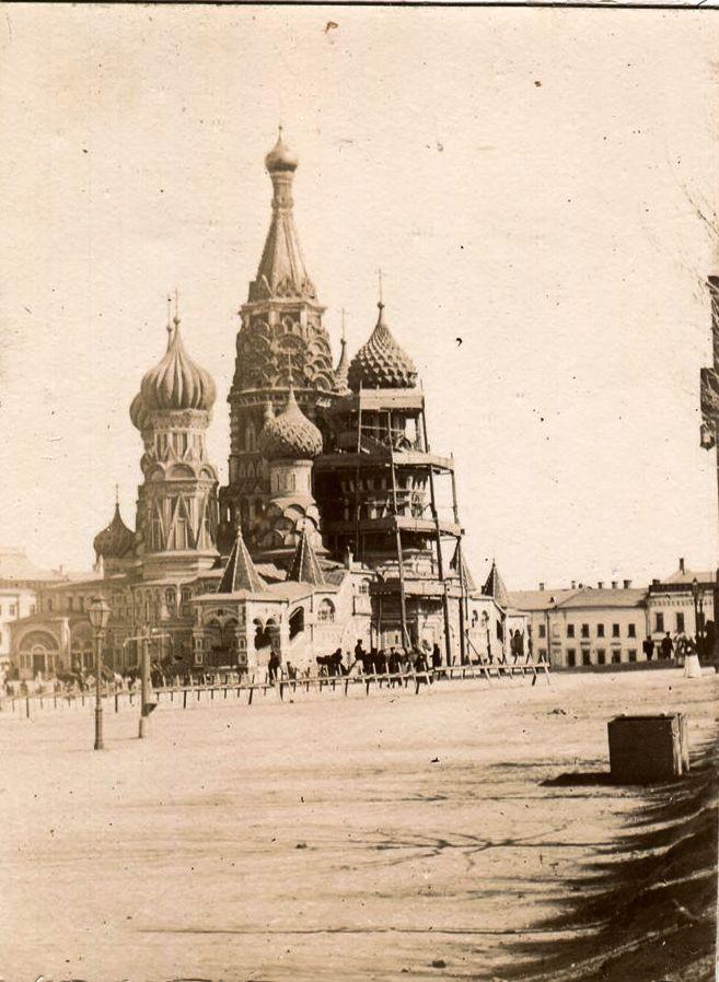 Красная площадь и Покровский собор