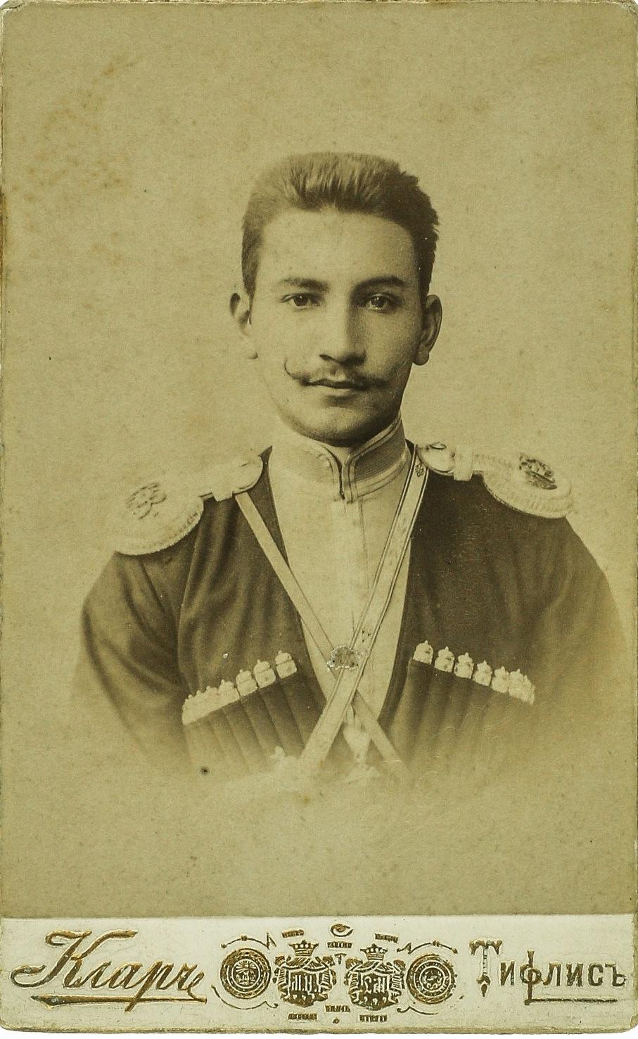 Фото войскового старшины полка Кубанского казачьего войска