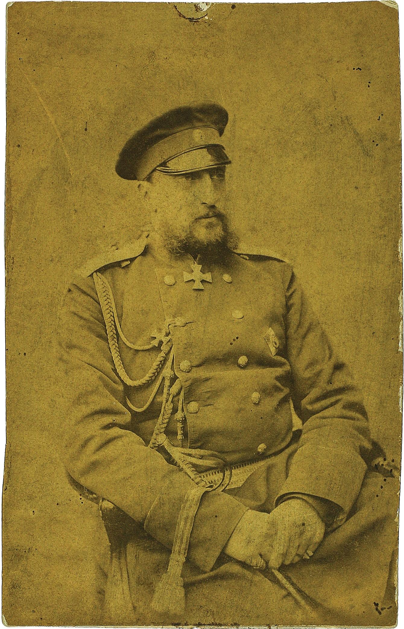 Фото главнокомандующего Великого Князя Николая Николаевича Старшего. 1878