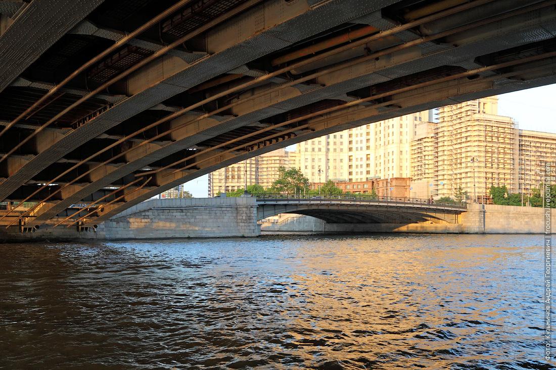 фото под Большим Устьинским мостом