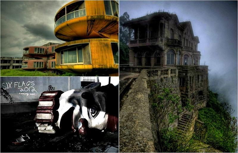 Таинственные и пугающие заброшенные постройки, адресов которых не найти в путеводителях