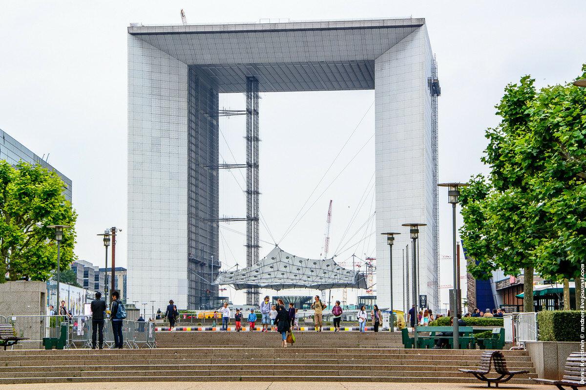 Большая арка Дефанс (La Grande Arche de la Défense)