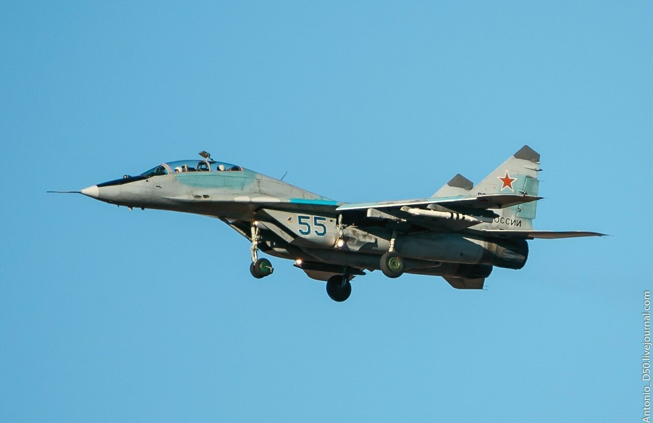 MiG-29UB (9.51) RF-90861/55.