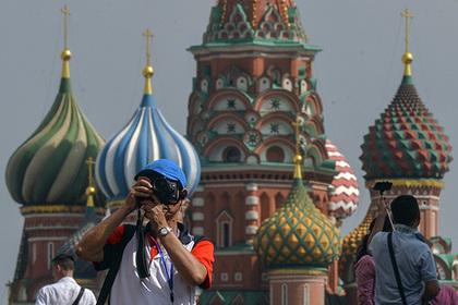 Затраты иностранцев в российской столице в 4 раза больше расходов туристов из России