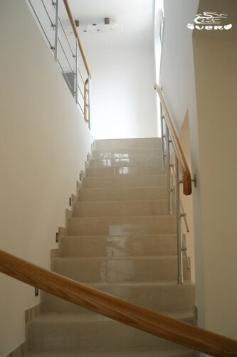 017. лестница на 2 этаж, ограждения лестницы