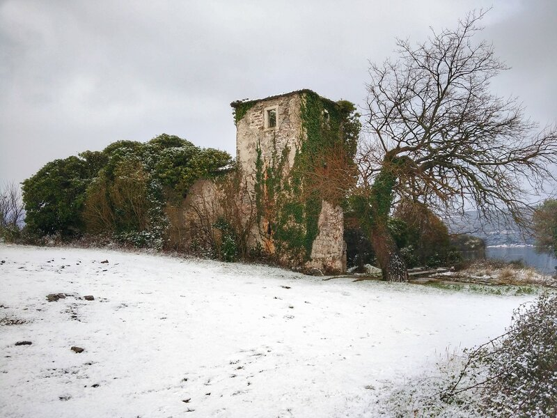 снег в Черногории