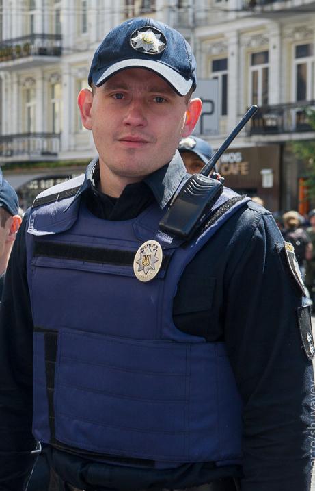 красивый полицейский