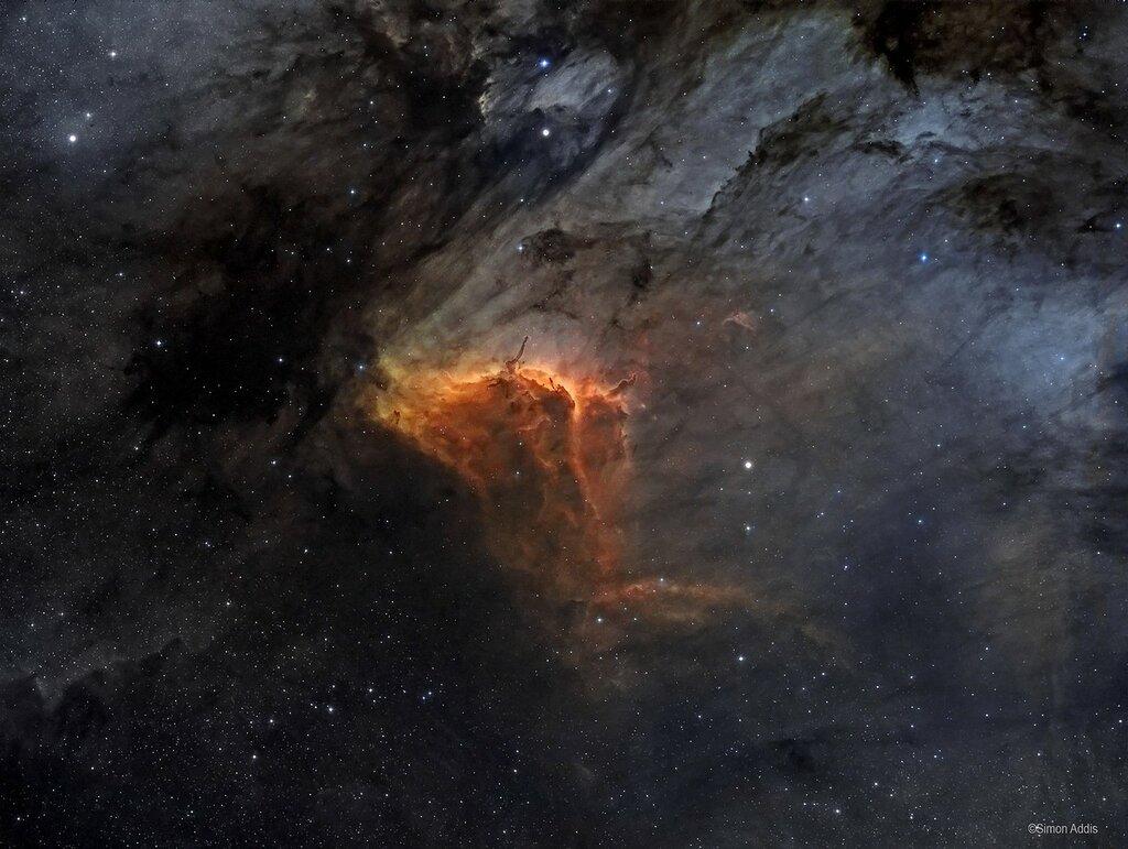 Туманность Пеликан