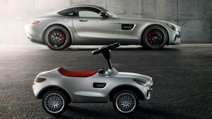 Детская версия автомобиля Mercedes-AMG GT