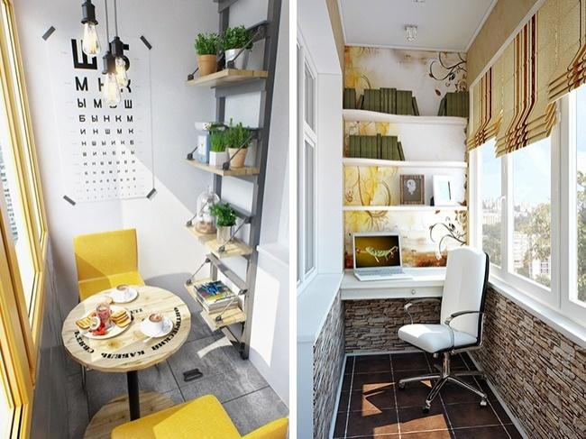 © home-designing  © 4living  Утепленный балкон запросто может стать отдельной комнатой.