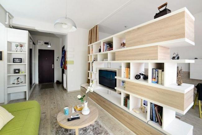 © homedit  В иных квартирах ненужна иперепланировка: достаточно правильно подобрать мебель,