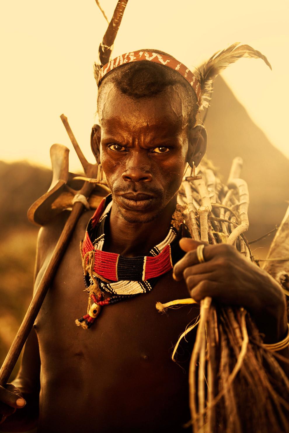 10. Рассвет в пустыне. (Фото Gareth Lowndes, 2015 Sony World Photography Awards):
