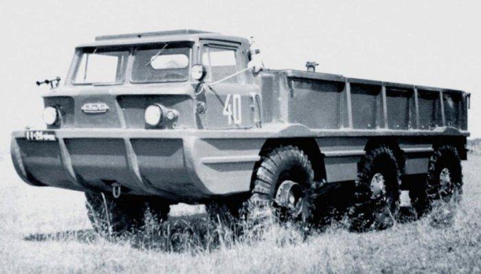 ЗИЛ-132П со снятым тентом.