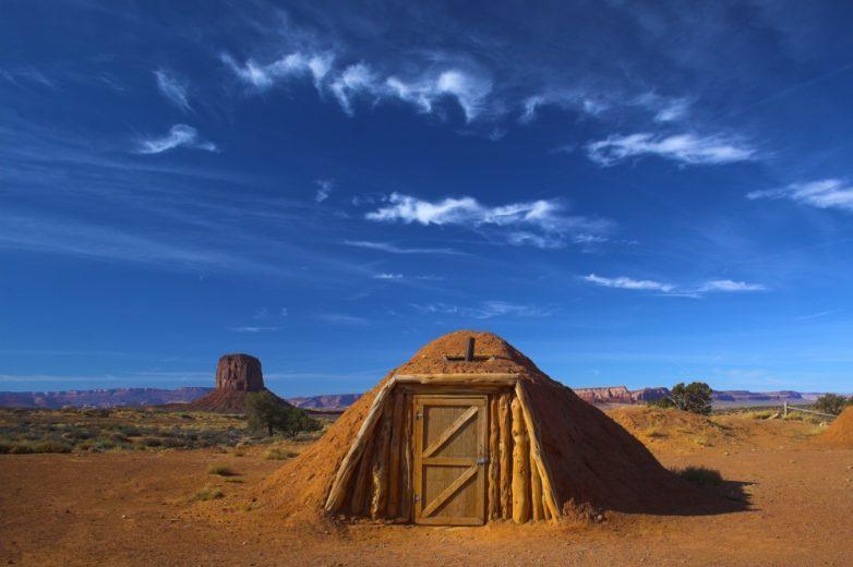 11. Хижина из глины, Аризона, США