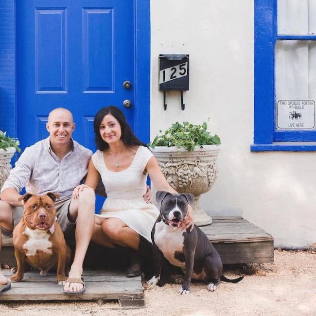 Девушка помогла псу обрести дом, аоней— найти свою любовь