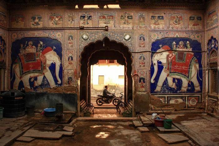 Художественная галерея под открытым небом Шекхавати, Раджастхан Художественные традиции региона Шекх