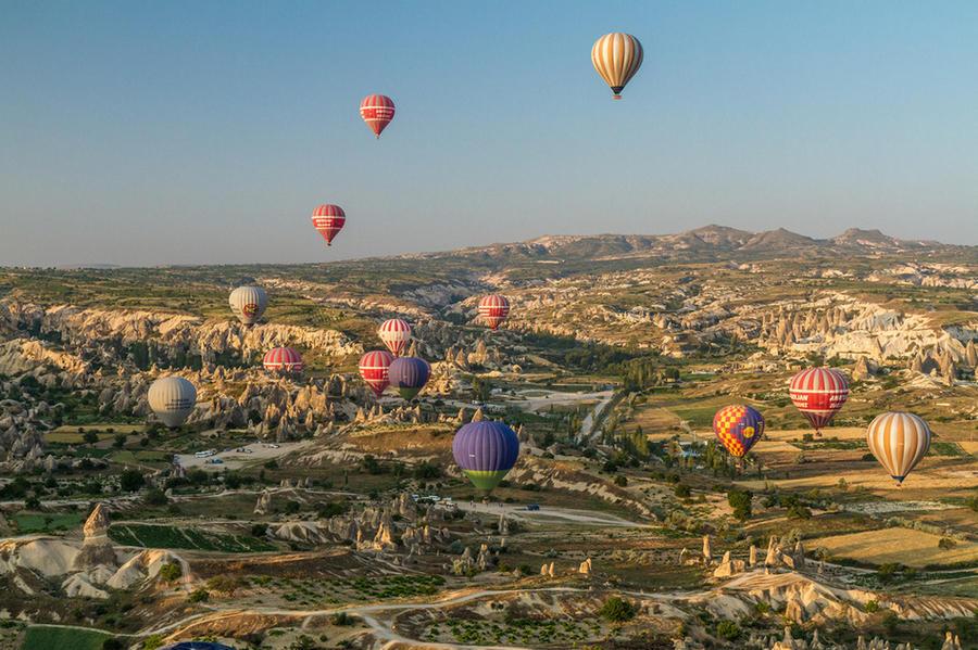Великолепие нашей планеты с высоты птичьего полета (15 фото)