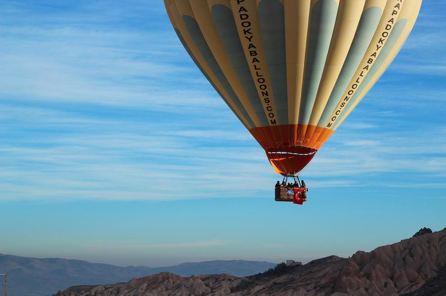 1. Полет над Каппадокией, Турция