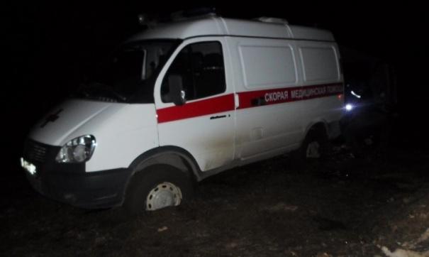 ВДТП угодила «скорая», пострадали шофёр ифельдшер