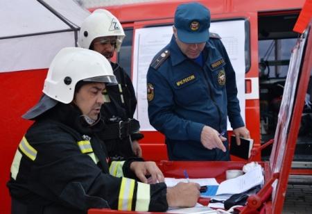 Департамент милиции в новейшей Чаре зажегся ночью 13октября