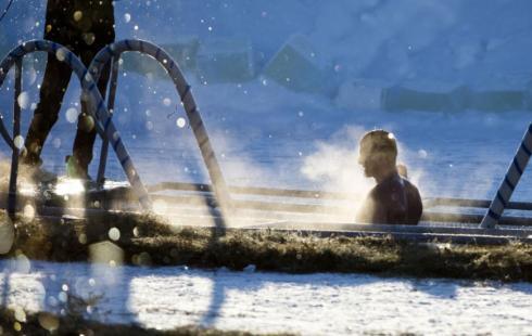 ВСургутском районе после крещенского купания скончался 54-летний мужчина