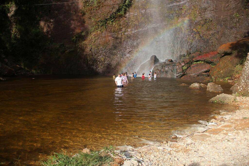 Водопад в долине Харау