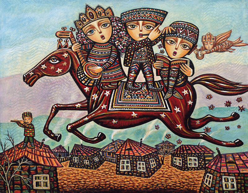Главное в жизни-семья! Армянский художник Севад Григорян