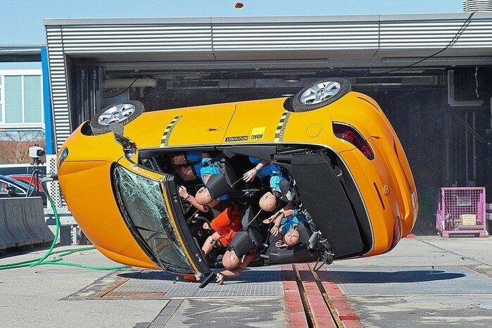 Какие, кроме краш-теста, еще существуют автомобильные тесты