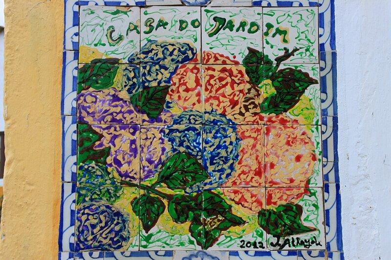 Азулежу в Обидуше (Azulejos in Obidos)