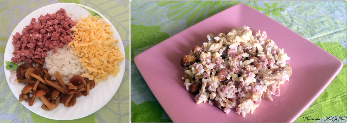Салат из маринованных опят рецепты с простые и вкусные рецепты