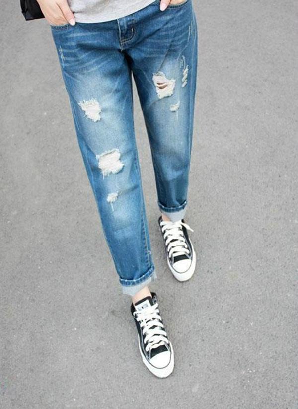 джинсы-бойфренды